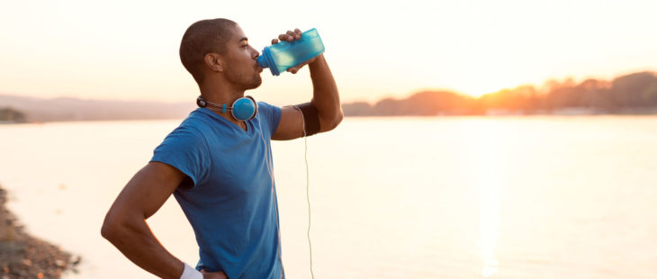 Sports Drinks with Electrolytes During Excercise