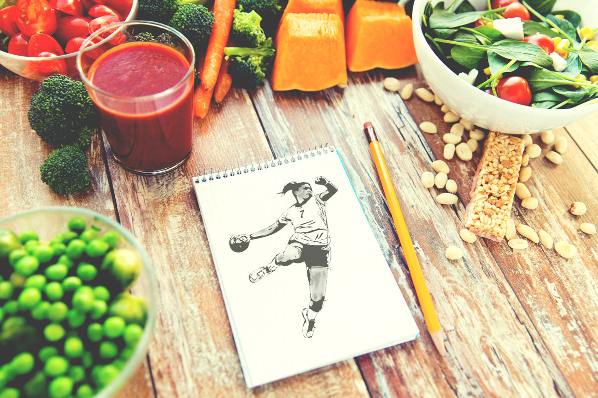 sports on a diet natural energy - sports diet
